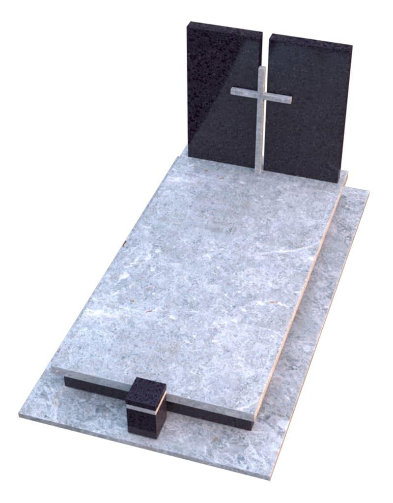 Vienvietes kapavietes pavyzdis