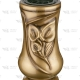 aukso spalvos vaza
